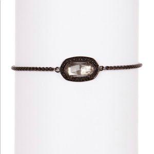 Kendra Scott Eve Mirror Rock Crystal Bracelet